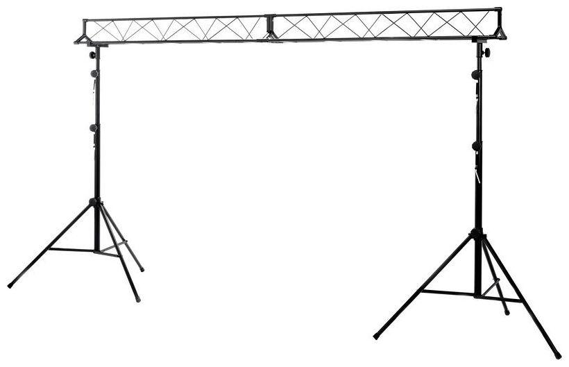 Lichttechnik Verleih, Stairville LB-3 Lighting Stand Set 3m Traverse Lichtstativ mieten/leihen